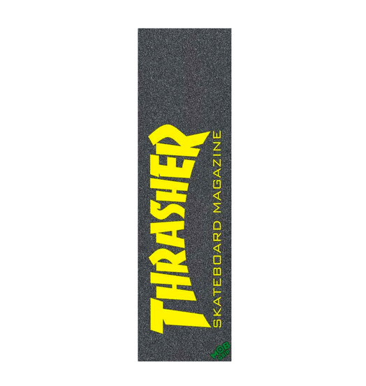 Mob Grip Mob Thrasher Skate Mag Yellow Grip Sheet