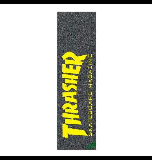 Mob Thrasher Skate Mag Yellow Grip Sheet