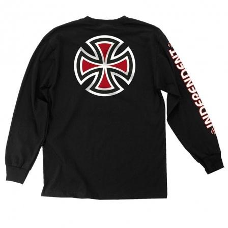 Independent Independent Bar/Cross Longsleeve - Black