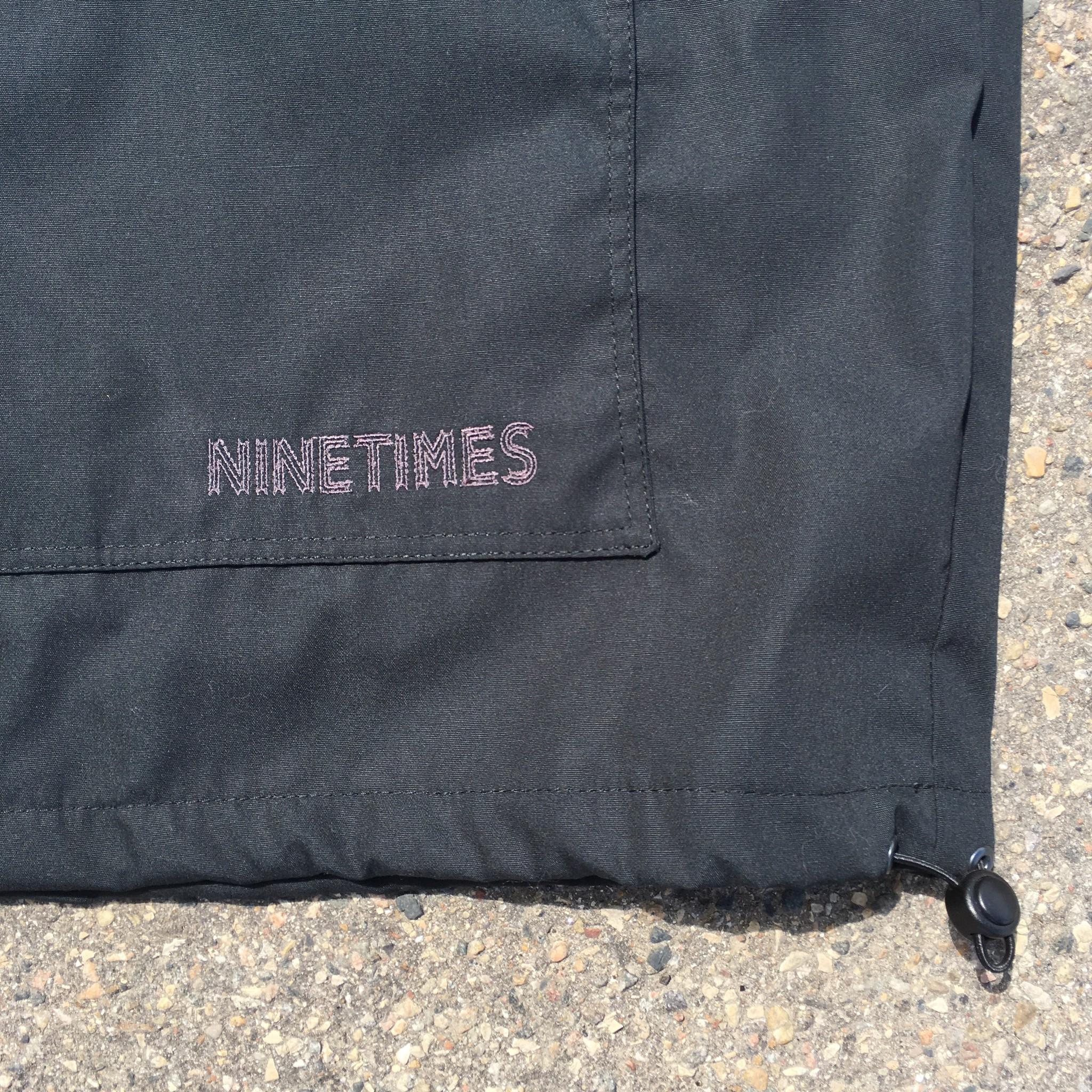 Ninetimes Ninetimes Anorak Jacket - Black/Black