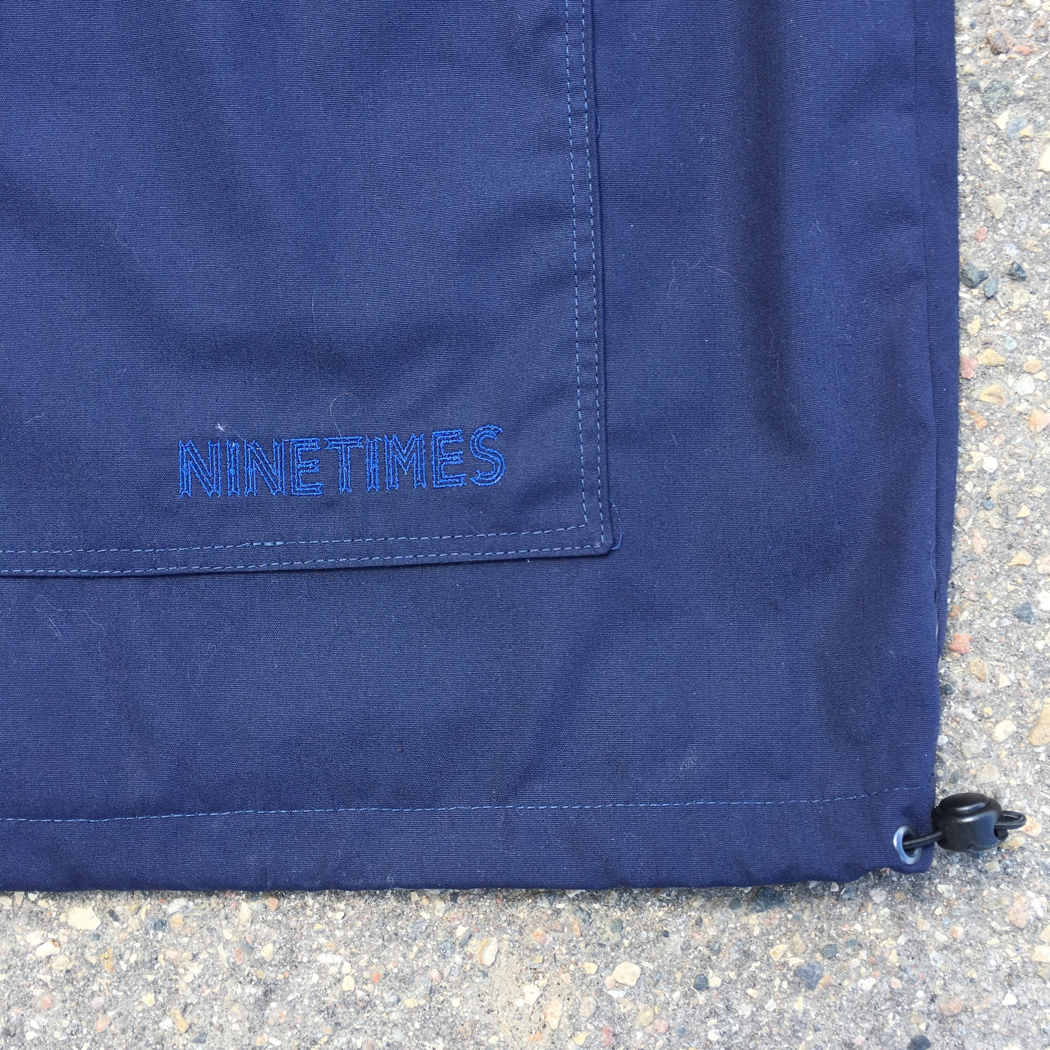 Ninetimes Ninetimes Anorak Jacket - Olive/Navy