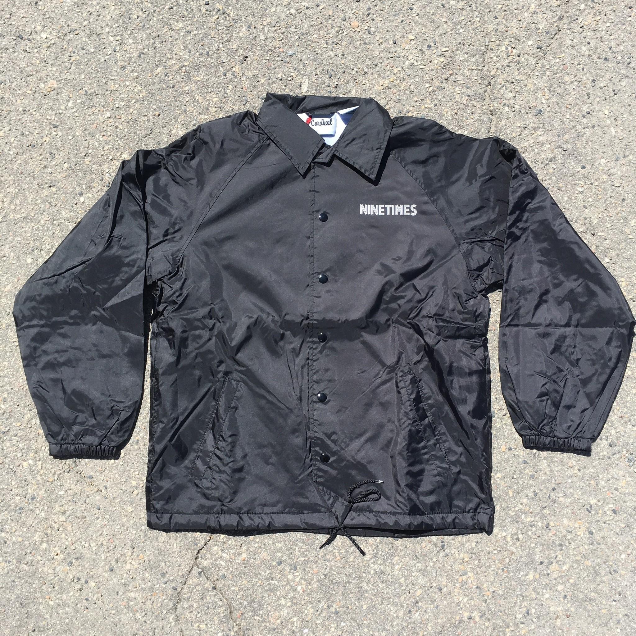 Ninetimes Ninetimes OG Coach Jacket - Black