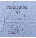 Ninetimes Ninetimes Selfie Tee Heather Grey