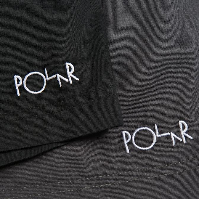 Polar Polar Surf Shorts - Black