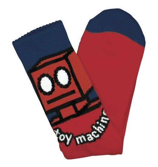 Toy Machine Toy Machine Robot Socks - Red