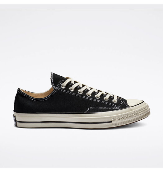 Converse Converse Chuck 70 OX Low - Black/Black/Egret