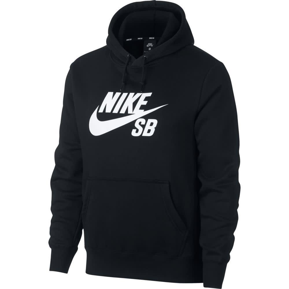 Nike Nike SB Icon Hoodie - Black/White