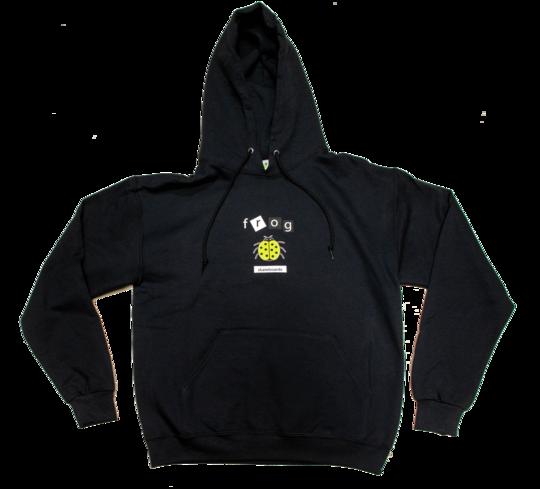 Frog Frog LadyBug Hoodie - Black