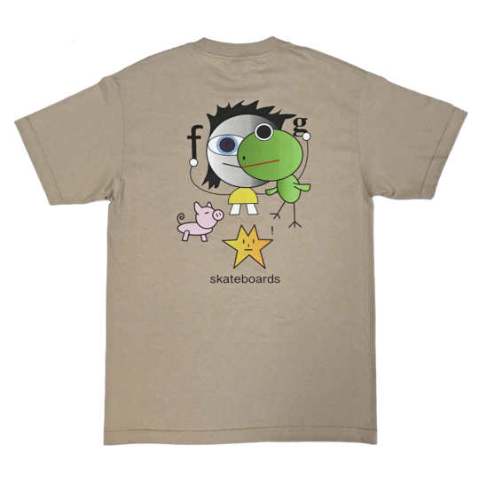 Frog Frog Kid! Tee - Oatmeal