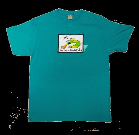 Frog Frog Classic Logo Tee - Jade Green