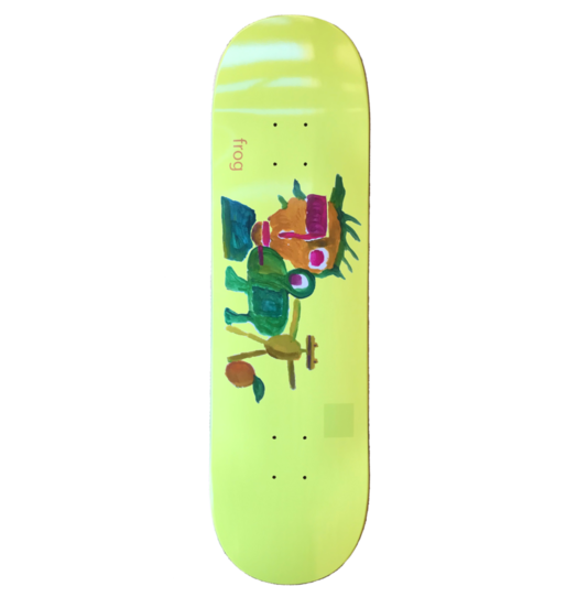 Frog Frog Painting Deck - 8.6
