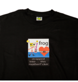 Frog Frog Strapped In Tee - Black