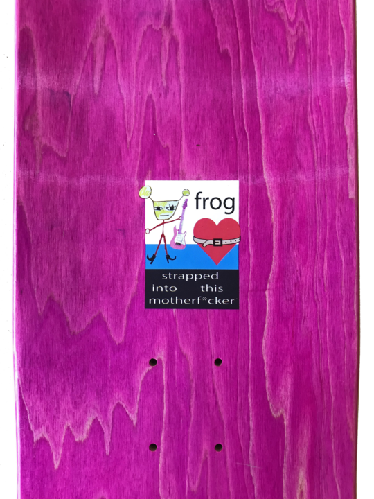 Frog Frog Strapped In Deck - 8.5