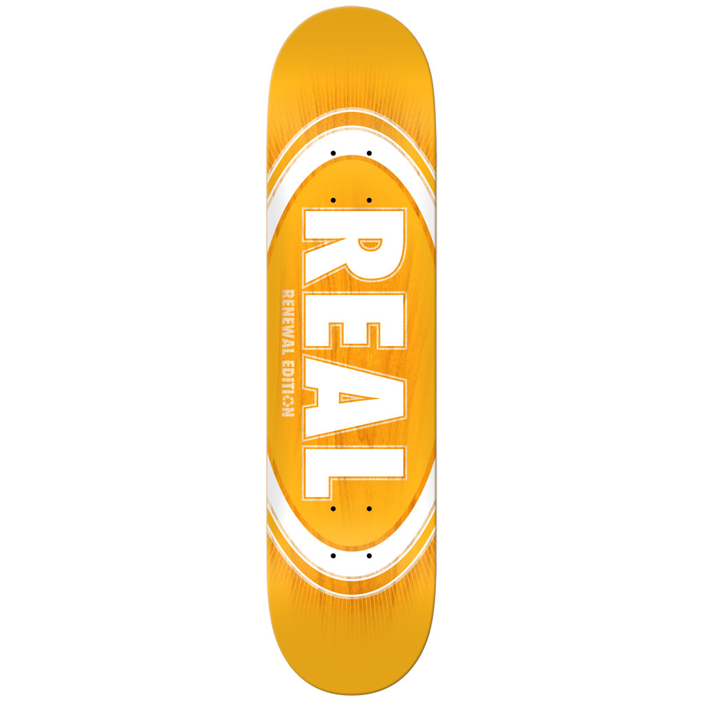 Real Real Oval Burst Fade - 8.06