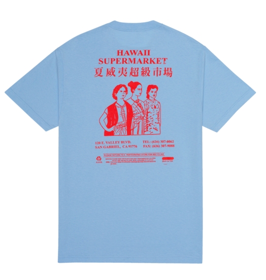Boys Of Summer Boys Of Summer Jergens Tee - Baby Blue