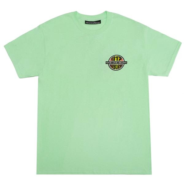 Call Me 917 Call Me 917 Airborne Division Tee - Mint