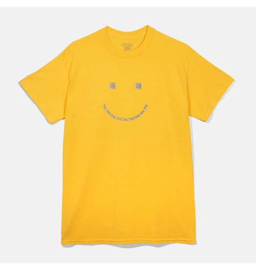 Baker Baker Smiley Tee - Yellow