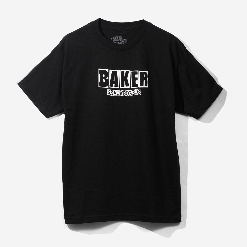 Baker Baker Brand Logo Tee - Black