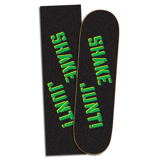 Shake Junt Green/Yellow Sprayed Griptape