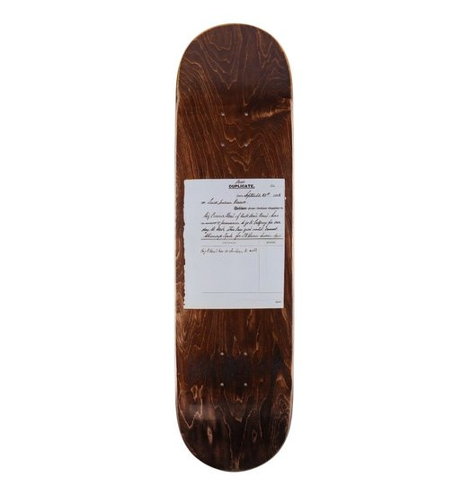 Colonialism Colonialism Pass System Woodgrain Reissue Deck - 8.0, 8.25, 8.5