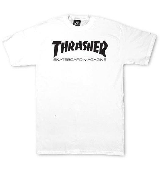 Thrasher Thrasher Skate Mag Tee - White