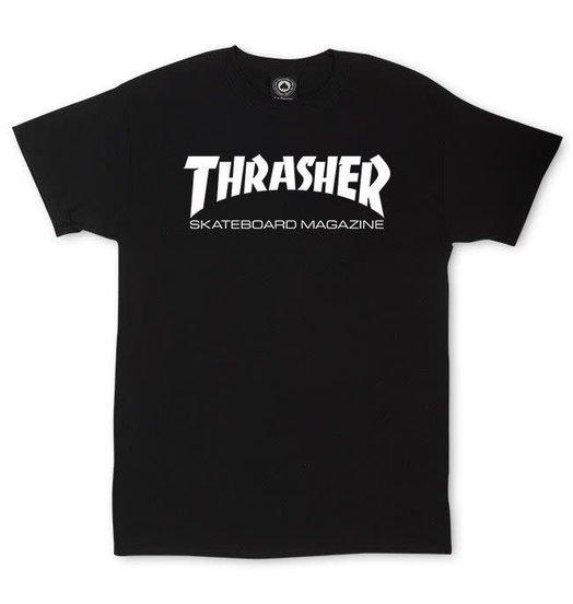 Thrasher Thrasher Skate Mag Tee - Black