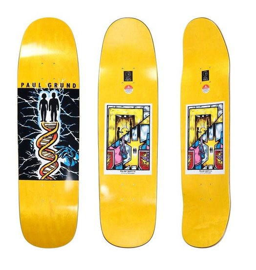 Polar Polar Grund The Creators Deck - P9 Shape 8.6