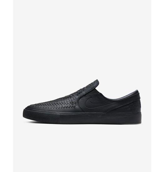 Nike Zoom Janoski Slip RM Crafted - Black/Black-Black-Black