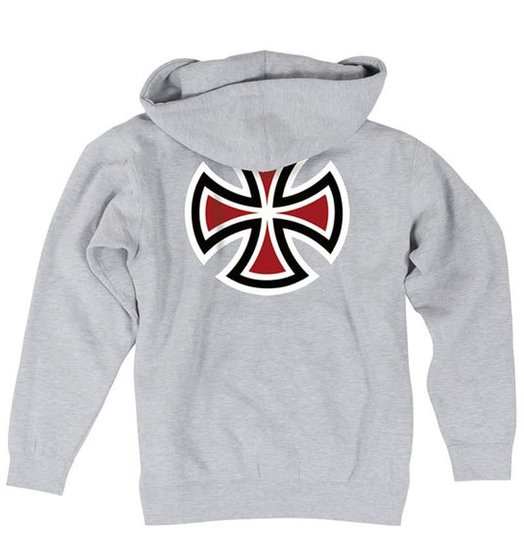 Independent Independent Bar/Cross Hoodie - Heather Grey