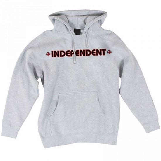 Independent Independent Bar/Cross Hoodie - Heather Grey