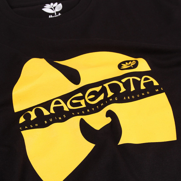 Magenta Magenta Wugenta Tee - Black