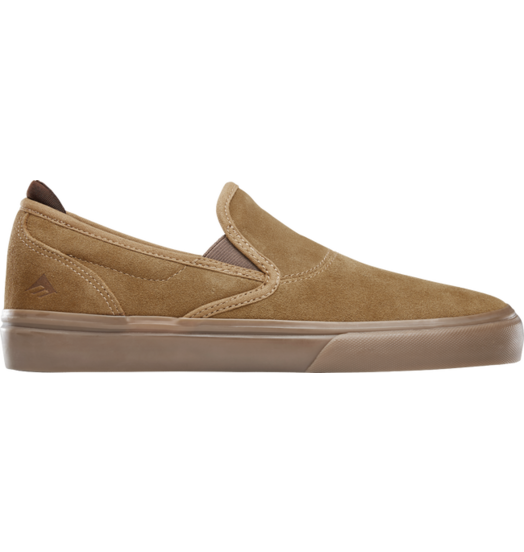 Emerica Emerica Wino G6 Slip On - Brown/Brown/Gum