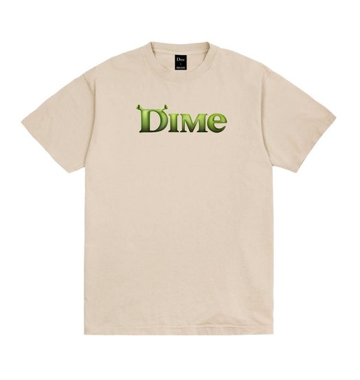 Dime Dime Somebody Tee - Beige