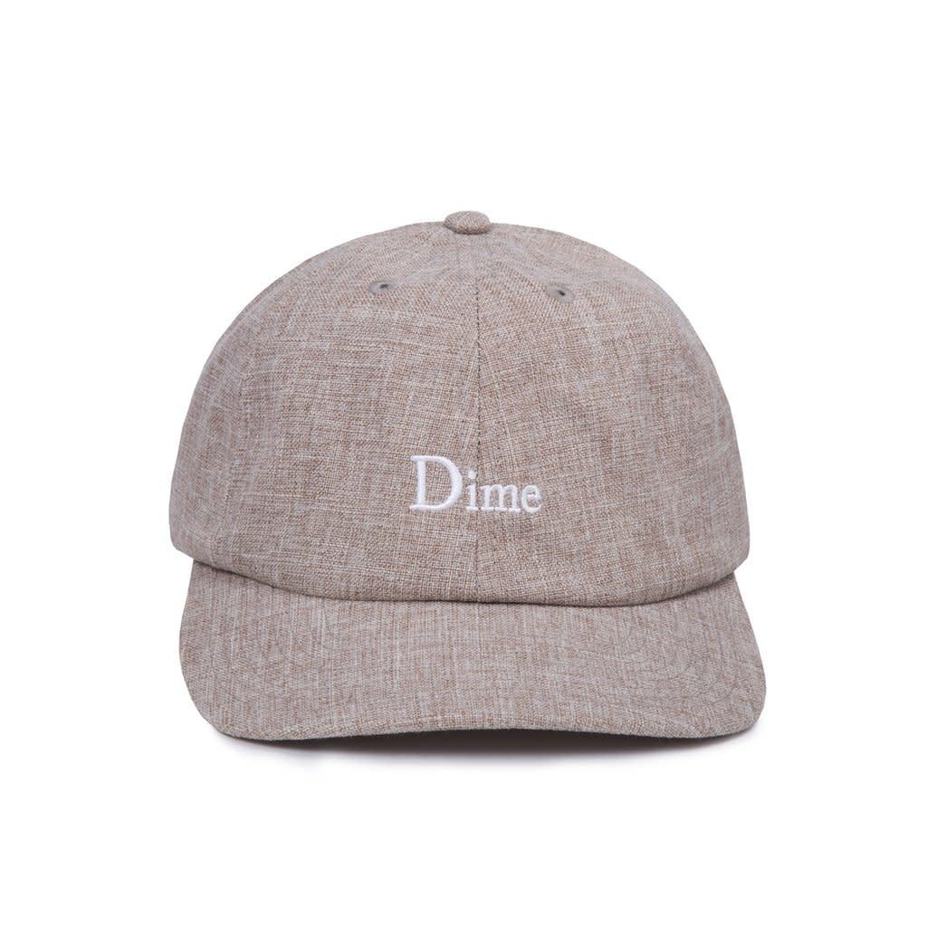 Dime Dime Classic Logo Cap - Warm Gray