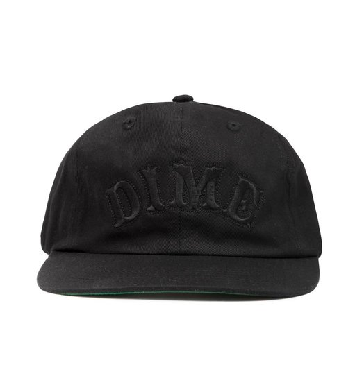 Dime Dime Spell Out Cap - Black