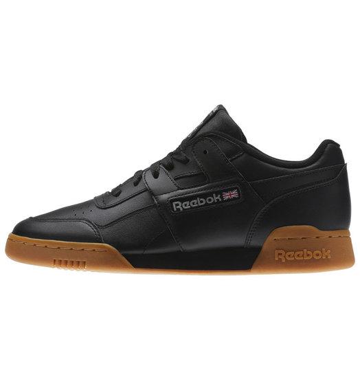 Reebok Reebok Workout Low - Black/Black/Gum