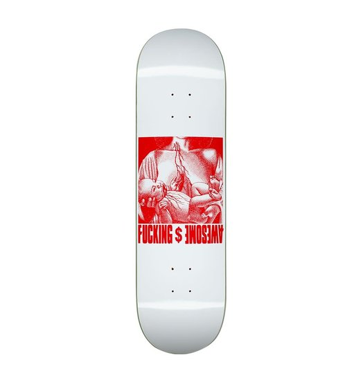 Fucking Awesome Fucking Awesome Berle Blood Baby Deck - White 8.5