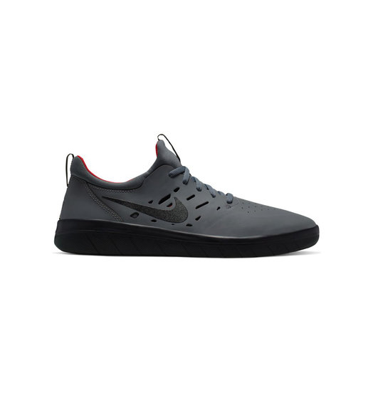Nike Nike SB Nyjah Free - Dark Grey/Black-Gym Red