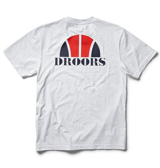 Droors Droors Basketball Tee - Bright White