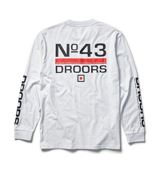 Droors Droors No. 43 Longsleeve - Bright White