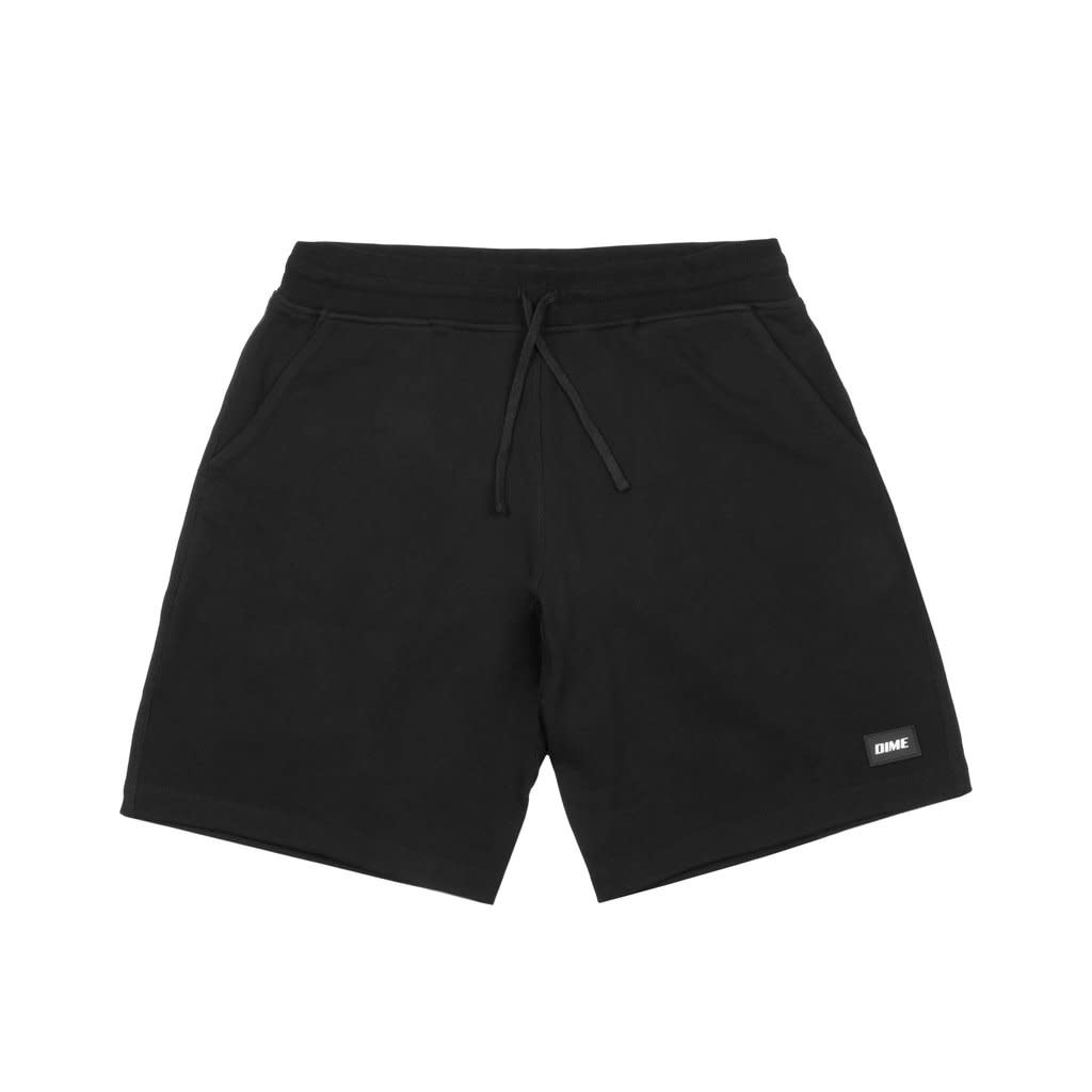 Dime Dime French Terry Short - Black