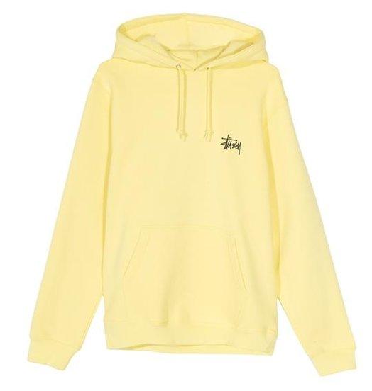 Stussy Stussy Basic Hood - Lemon