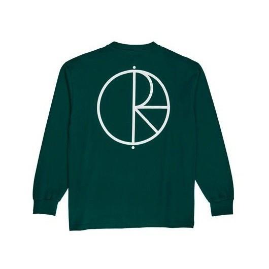 Polar Polar Stroke Logo Longsleeve - Dark Green