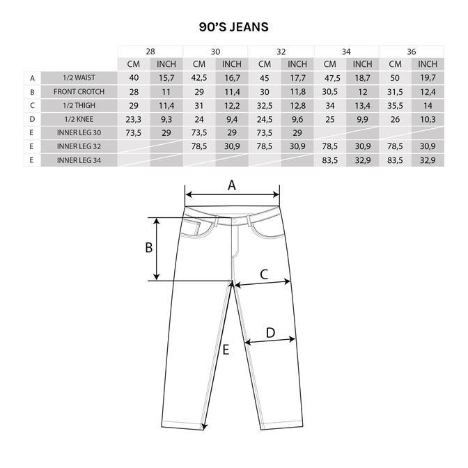 Polar Polar 90's Jeans - Black