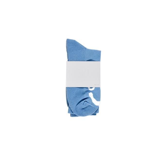 Polar Polar Happy Sad Socks - Light Blue