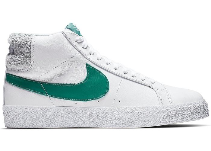 Nike Nike SB Zoom Blazer Mid - White/Biscoastal