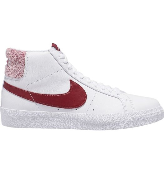 Nike Nike SB Zoom Blazer Mid - White/Team Red