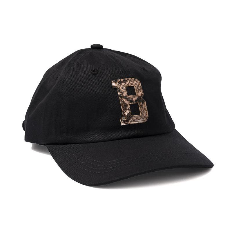 Bronze 56K Bronze 56K Snakeskin B Hat - Black