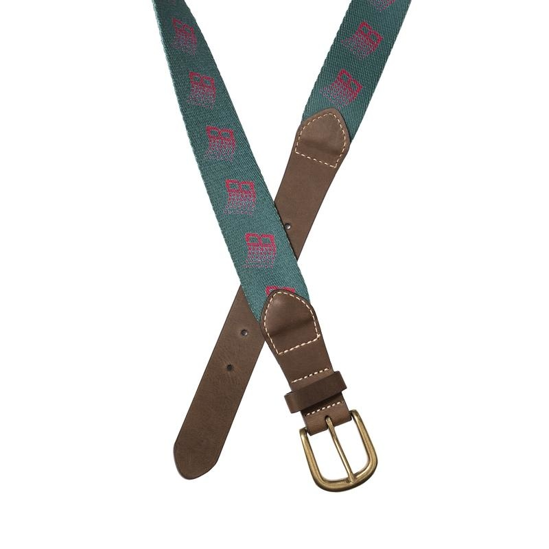 Bronze 56K Bronze 56K B Logo Belt - Green