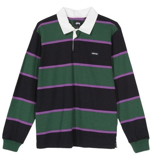 Stussy Stussy Blake LS Rugby - Forest
